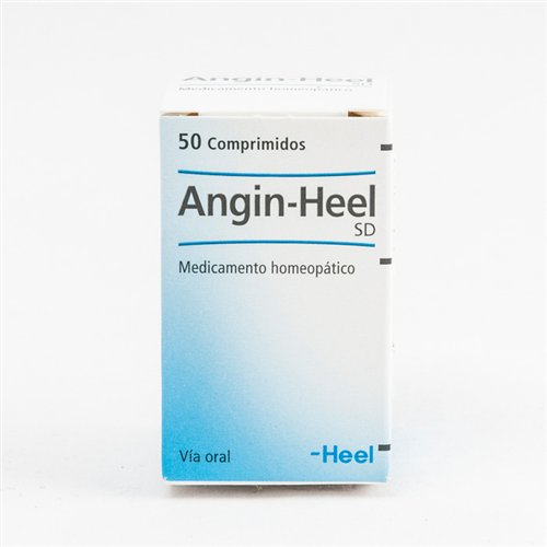 Angin-Heel S, tablets  / АНГИН - ХИЛ ТАБЛЕТКИ # 50