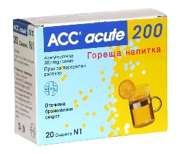 ACC HOT DRINK / АЦЦ 600 ТОПЛА НАПИТКА # 10